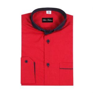 Červená detská košeľa