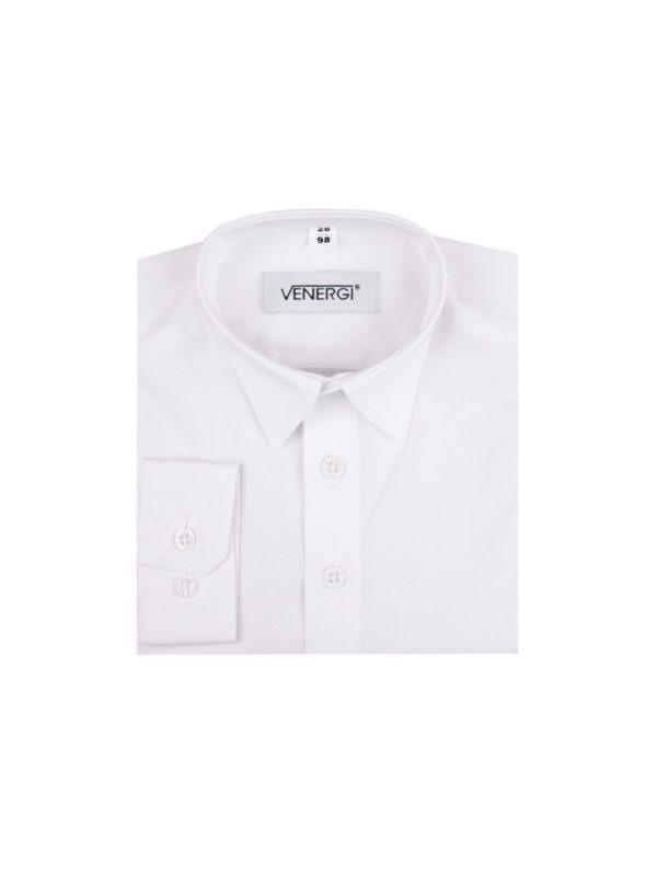 Biela detská košeľa