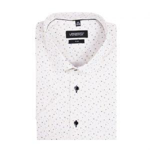 Vzorovaná pánska košeľa s krátkym rukávom
