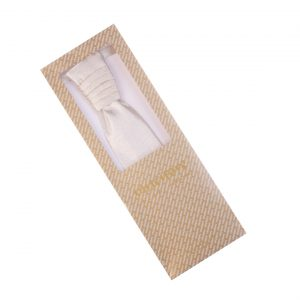 Zlatá pánska ozdobná kravata