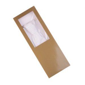 Ivory pánska ozdobná kravata s drobným vzorom